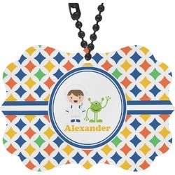 Boy's Astronaut Rear View Mirror Charm (Personalized)