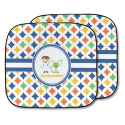 Boy's Astronaut Car Sun Shade - Two Piece (Personalized)