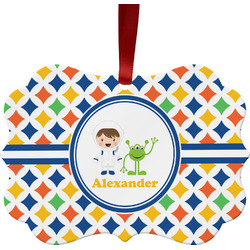 Boy's Astronaut Ornament (Personalized)