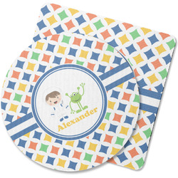 Boy's Astronaut Rubber Backed Coaster (Personalized)