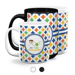 Boy's Astronaut Coffee Mugs (Personalized)