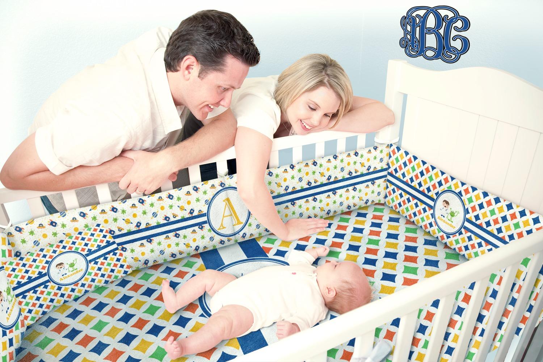 Boy S Astronaut Crib Comforter Quilt Personalized