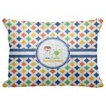 "Boy's Astronaut Decorative Baby Pillowcase - 16""x12"" (Personalized)"