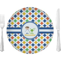 Boy's Astronaut Dinner Plate (Personalized)