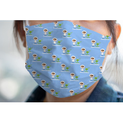 Boy's Astronaut Face Mask Cover (Personalized)