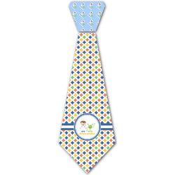 Boy's Astronaut Iron On Tie - 4 Sizes w/ Name or Text