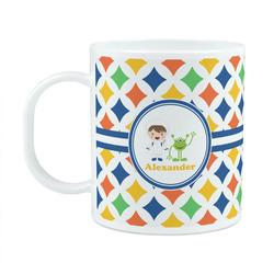 Boy's Astronaut Plastic Kids Mug (Personalized)