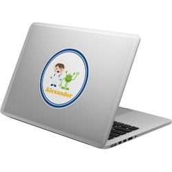 Boy's Astronaut Laptop Decal (Personalized)