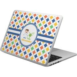 Boy's Astronaut Laptop Skin - Custom Sized (Personalized)