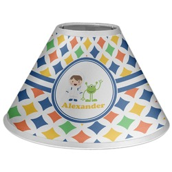 Boy's Astronaut Coolie Lamp Shade (Personalized)
