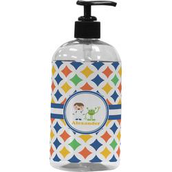 Boy's Astronaut Plastic Soap / Lotion Dispenser (Personalized)