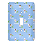 Boy's Astronaut Light Switch Covers (Personalized)