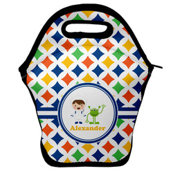 Boy's Astronaut Lunch Bag w/ Name or Text