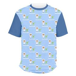 Boy's Astronaut Men's Crew T-Shirt (Personalized)