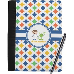 Boy's Astronaut Notebook Padfolio (Personalized)
