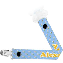 Boy's Astronaut Pacifier Clips (Personalized)