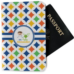 Boy's Astronaut Passport Holder - Fabric (Personalized)