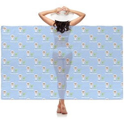 Boy's Astronaut Sheer Sarong (Personalized)