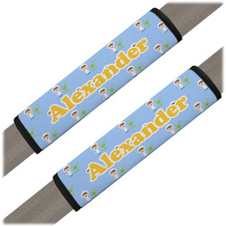 Boy's Astronaut Seat Belt Covers (Set of 2) (Personalized)