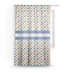 Boy's Astronaut Sheer Curtains (Personalized)