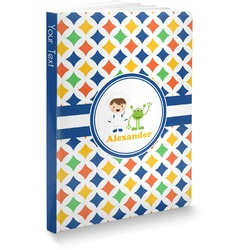Boy's Astronaut Softbound Notebook (Personalized)