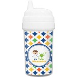 Boy's Astronaut Toddler Sippy Cup (Personalized)