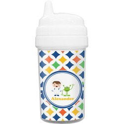 Boy's Astronaut Sippy Cup (Personalized)