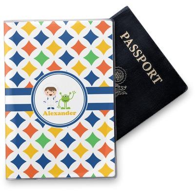 Boy's Astronaut Vinyl Passport Holder (Personalized)