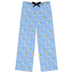 Boy's Astronaut Womens Pajama Pants (Personalized)
