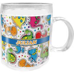 Dinosaur Print Acrylic Kids Mug (Personalized)