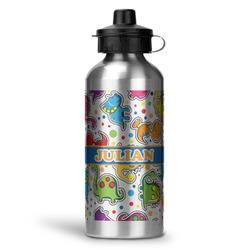 Dinosaur Print Water Bottle - Aluminum - 20 oz (Personalized)