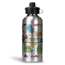 Dinosaur Print Water Bottle - Aluminum - 20 oz (Personalized)