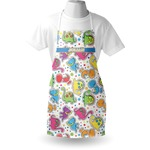 Dinosaur Print Apron (Personalized)
