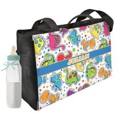 Dinosaur Print Diaper Bag (Personalized)