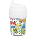 Dinosaur Print Baby Sippy Cup (Personalized)