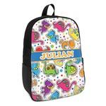Dinosaur Print Kids Backpack (Personalized)