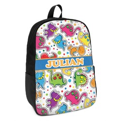 Dinosaur Print Kids Backpack (Personalized)