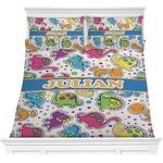 Dinosaur Print Comforter Set (Personalized)