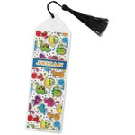 Dinosaur Print Book Mark w/Tassel (Personalized)