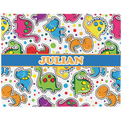 Dinosaur Print Placemat (Fabric) (Personalized)