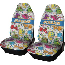 Dinosaur Print Car Seat Covers (Set of Two) (Personalized)