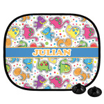 Dinosaur Print Car Side Window Sun Shade (Personalized)