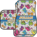 Dinosaur Print Car Floor Mats (Personalized)
