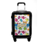 Dinosaur Print Carry On Hard Shell Suitcase (Personalized)