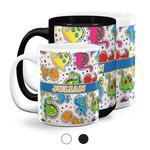 Dinosaur Print Coffee Mugs (Personalized)
