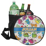 Dinosaur Print Collapsible Cooler & Seat (Personalized)