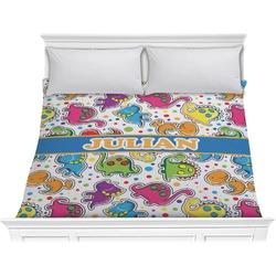 Dinosaur Print Comforter - King (Personalized)