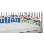 Dinosaur Print Crib Bumper Pads (Personalized)