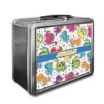 Dinosaur Print Lunch Box (Personalized)