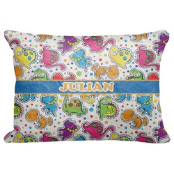 "Dinosaur Print Decorative Baby Pillowcase - 16""x12"" (Personalized)"